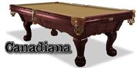 Canadiana Pool Table AVAILABLE NOW at Beachcomber!!!