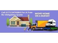 Modern Movers  Home & Office Removal Company Luton Van 7.5T Truck Best Price Guaranteed Sameday