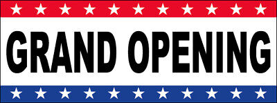 Grand Opening Vinyl Banner Sign Usa Wb - Multi Sizes