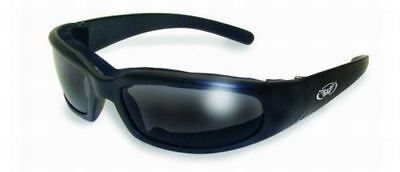 Global Vision Chicago Padded Motorcycle Sunglasses-Smoked Or Flash Mirror (Cheap Motorcycle Sunglasses)