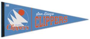 f5b4d780b6b6 Rare SAN DIEGO CLIPPERS Retro-1978-82-Style Premium Felt NBA Classic PENNANT
