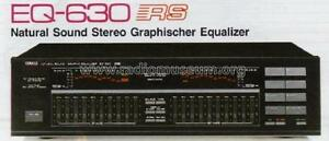 VGC Yamaha EQ-630 Natural Sound 10-Band Stereo Graphic Equalizer