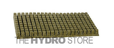 Grodan 1  A Ok Starter Plugs Cubes 6 10 40 100 200 Count   Rockwool Grow Media
