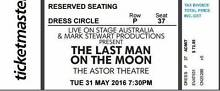 2 Tickets : Last Man On The Moon. Astor Theatre, St Kilda, VIC Cremorne North Sydney Area Preview