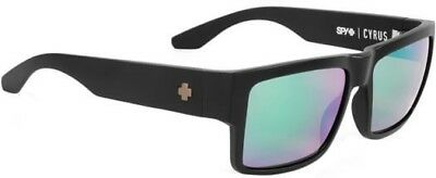 **Spy Optic Sunglasses CYRUS Polarized Black / green mirror 673180374861 (Spy Optic Cyrus)