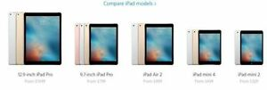 JE RECHERCHE IPAD PRO / IPAD AIR / IPAD MINI PAY TOP DOLLARS $$