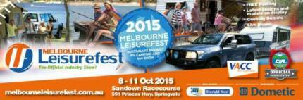 Melbourne Leisurefest x 4 tickets for THIS WEEKEND. Pick up only. Wantirna South Knox Area Preview