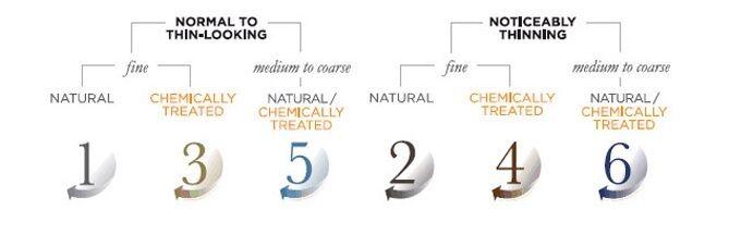 Nioxin Products Comparison
