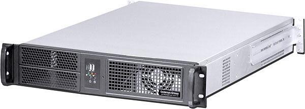 "2U (3xHorizonal Riser/ 7slot) EATX Rackmount Chassis(2x5.25""+9xHDDs Bay)Case NEW"