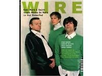 Back issues of The Wire magazine May 2007 - December 2016 (279-394) plus Wire Tapper CDs