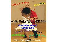 Cuban Salsa 6 week Wednesday course from Jan 10