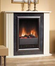 Mozart MZT20 2kw log effect fire with surround.