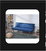 3str click clack sofa bed