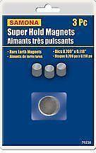 Super Hold Magnets 3 Pc Disc/Magnetic Tape/Magnetic Wrist Band/MAGNETIC HOOKS/Magnetic Pickup Tool/3Pc Magnetic Tool Bar