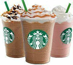 (15) FREE DRINK COUPONS STARBUCKS ANY SIZE ANY DRINK No Expiration Date