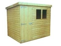 Pent Shed 8x4