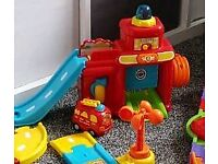 toot toot fire station and extra track