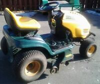 RIDE ON LAWNMOWER TRACTOR FOR SALE
