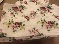 8 floral rustic table runners, handmade
