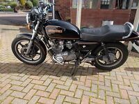 SUZUKI GS 673 MOTORBIKE 1981 EASY TO START GOOD RUNNER