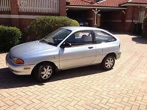 1995 Ford Festiva Hatch Bentleigh East Glen Eira Area Preview