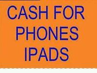 WANTED I PAY CASH IPHONES' 6'6S' 7'7 PLUS NEW USED CALL TEXT NOW WANTED