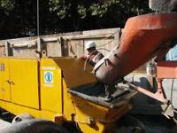 Blue card CPCS A44 Trailer Mounted Concrete Pump Operator - Oxford