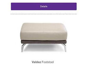 Wanted ....Footstool Grey leather dfs
