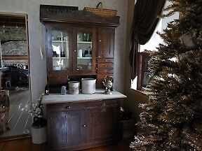 Antique Kitchen Cabinet.