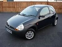 2004 FORD KA 3 DOOR HATCHBACK, 1 OWNER, 80,000 MILES. IDEAL 1ST CAR, LONG MOT.
