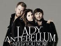 Lady Antebellum - London 02 - Tickets - 10th October 2017