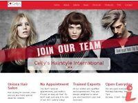 Experienced hairstylist ,hairdresser required.
