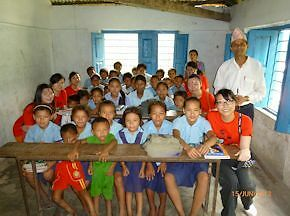 Teaching English in schools in Nepal