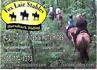 Horseback Riding Gift Certificates