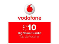£20 Vodafone Credit with PAYG sim only pay £17.99
