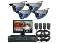 AHD HD HIGH QUALITY cctv camera systems supplied and fitted