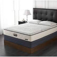 Brand new... Simmons, Boundless Queen mattress and boxspring