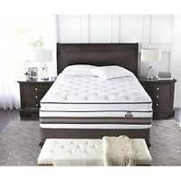 Serta Iseries Hybrid Dawning queen mattress and boxspring