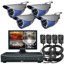 cctv camera full systems HD AND AHD