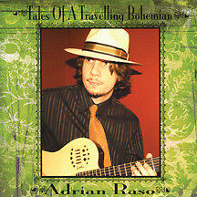 Tales of a Travelling Bohemian - Adrian Raso -  as new condition