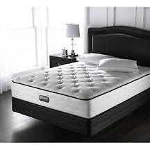 Simmons Sovereign double mattress and boxspring for sale