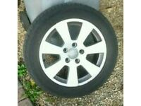Audi/ vw alloy wheels