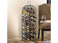 Fancy Metal Wine Rack