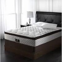 BRAND NEW SEALY ROSSEAU DOUBLE MATTRESS AND BOXSPRING