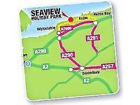 FREE CARAVAN FEES ***SEAVIEW, KENT, CANTERBURY, DOVER, HASTINGS, CT52RY***