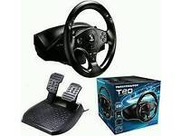 T80 steering wheel and stand for ps4 / ps3