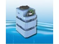 NEW - Water Pressure Booster Pump and Tank 220 litres / 58 Gallons (DON'T NEED ANYTHING ELSE!)