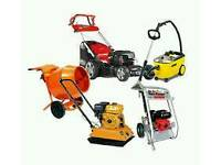 Small Plant, tools and equipment repairs