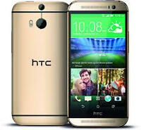 Brand New Condition HTC ONE M8 (Unlocked)-Gold-32GB= $370