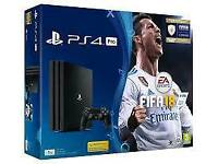 PS4 PRO 1TB FIFA 18 BUNDLES - NEW